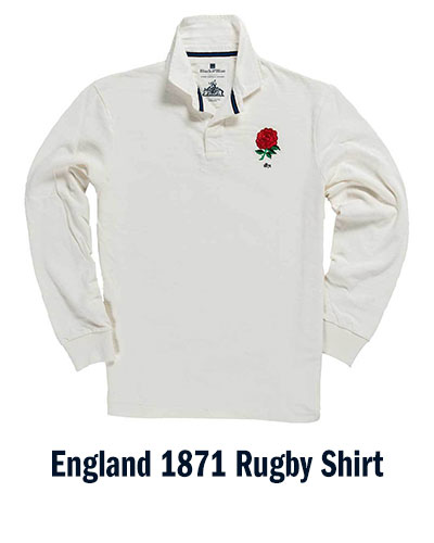 England 1871 Rugby Shirt