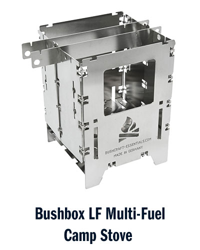 Bushcraft Essentials Bushbox LF camp stove