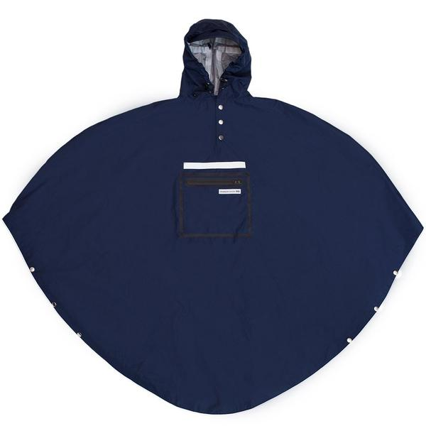 The People's Poncho | Rain Poncho | Cycling Cape | Navy Poncho - WildBounds