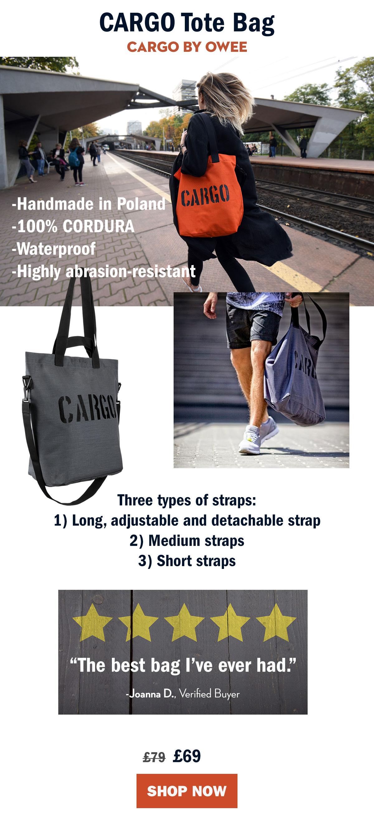 Cargo Tote Bag