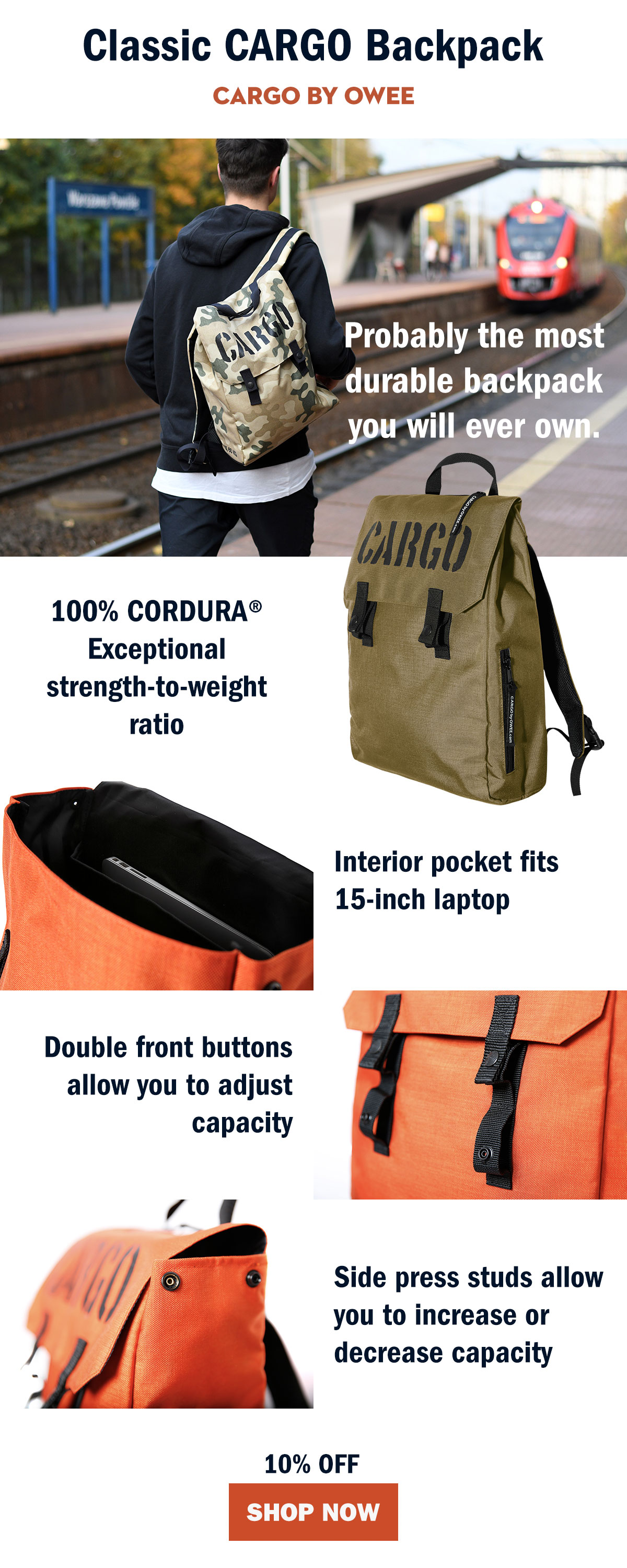 Classic Cargo Backpack
