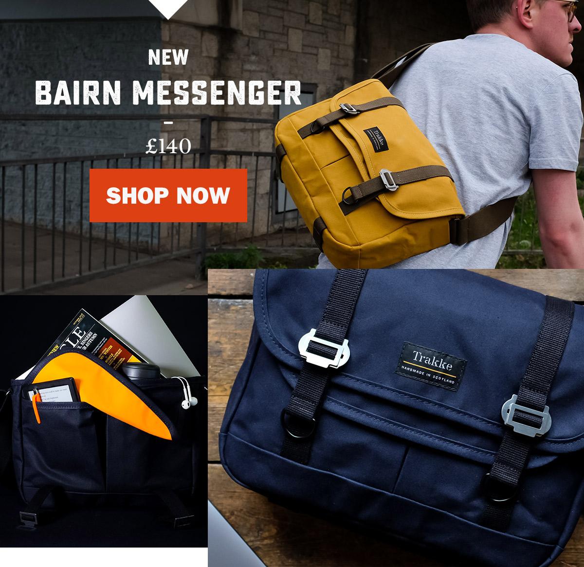 BAIRN MESSENGER BAG   WildBounds