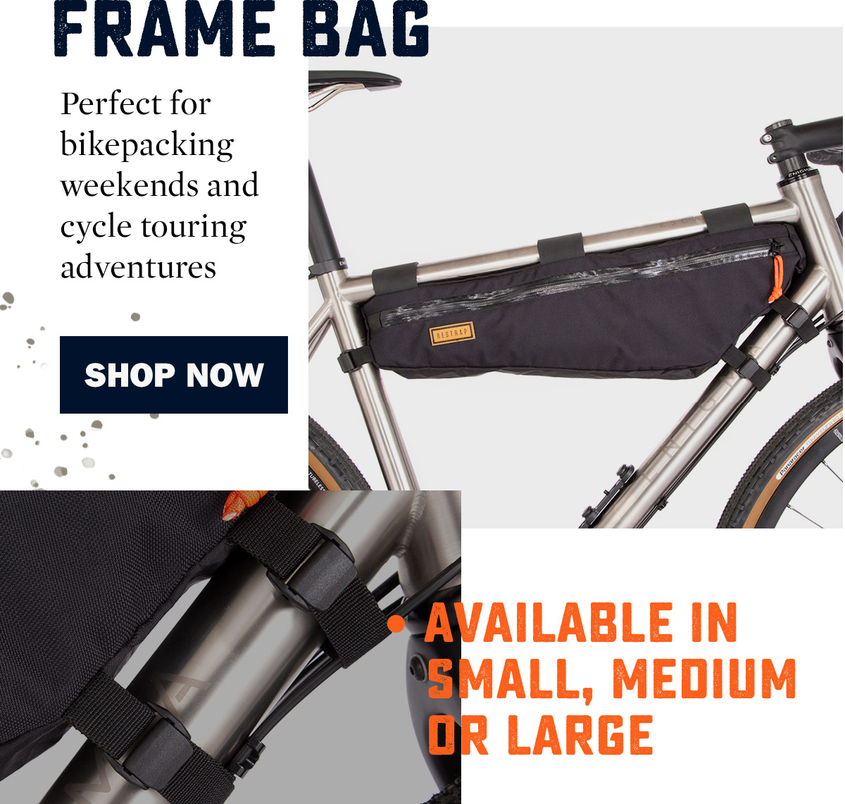 Restrap Frame Bags | WildBounds