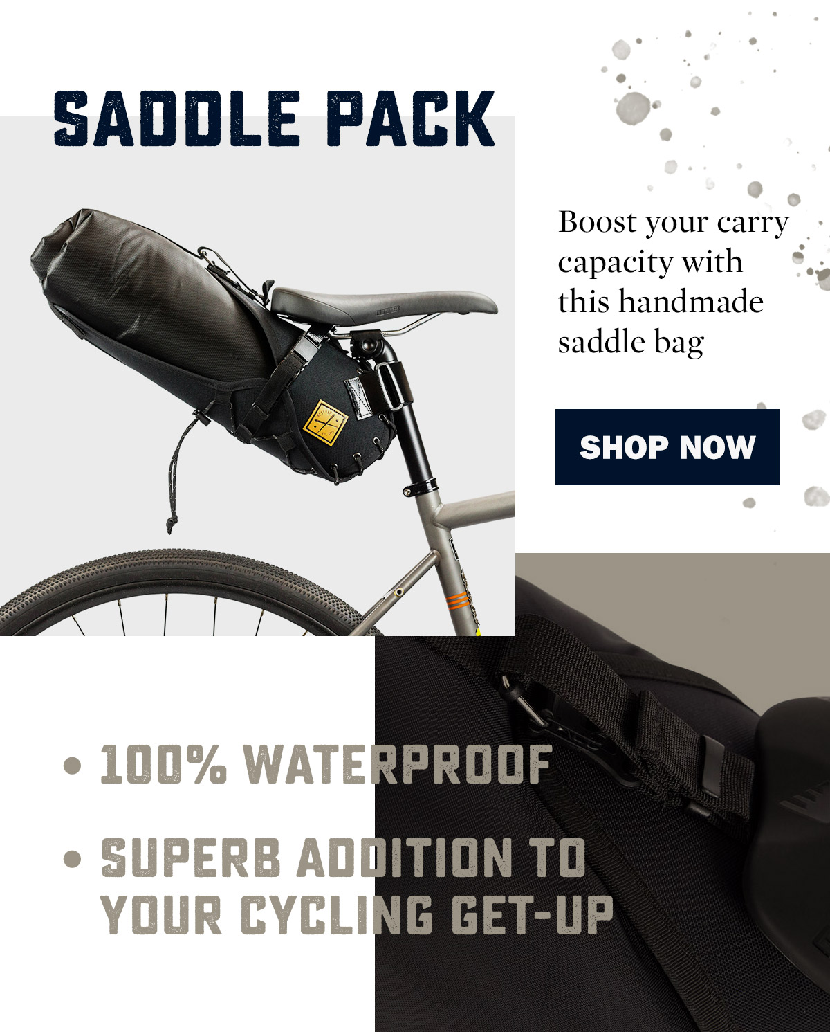 Restrap Saddle Packs | WildBounds