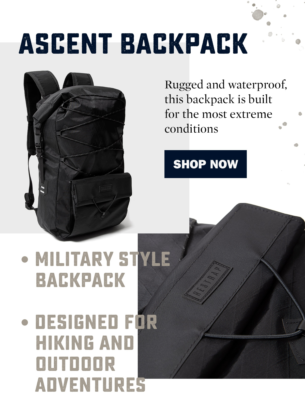 Restrap Ascent Backpack | WildBounds