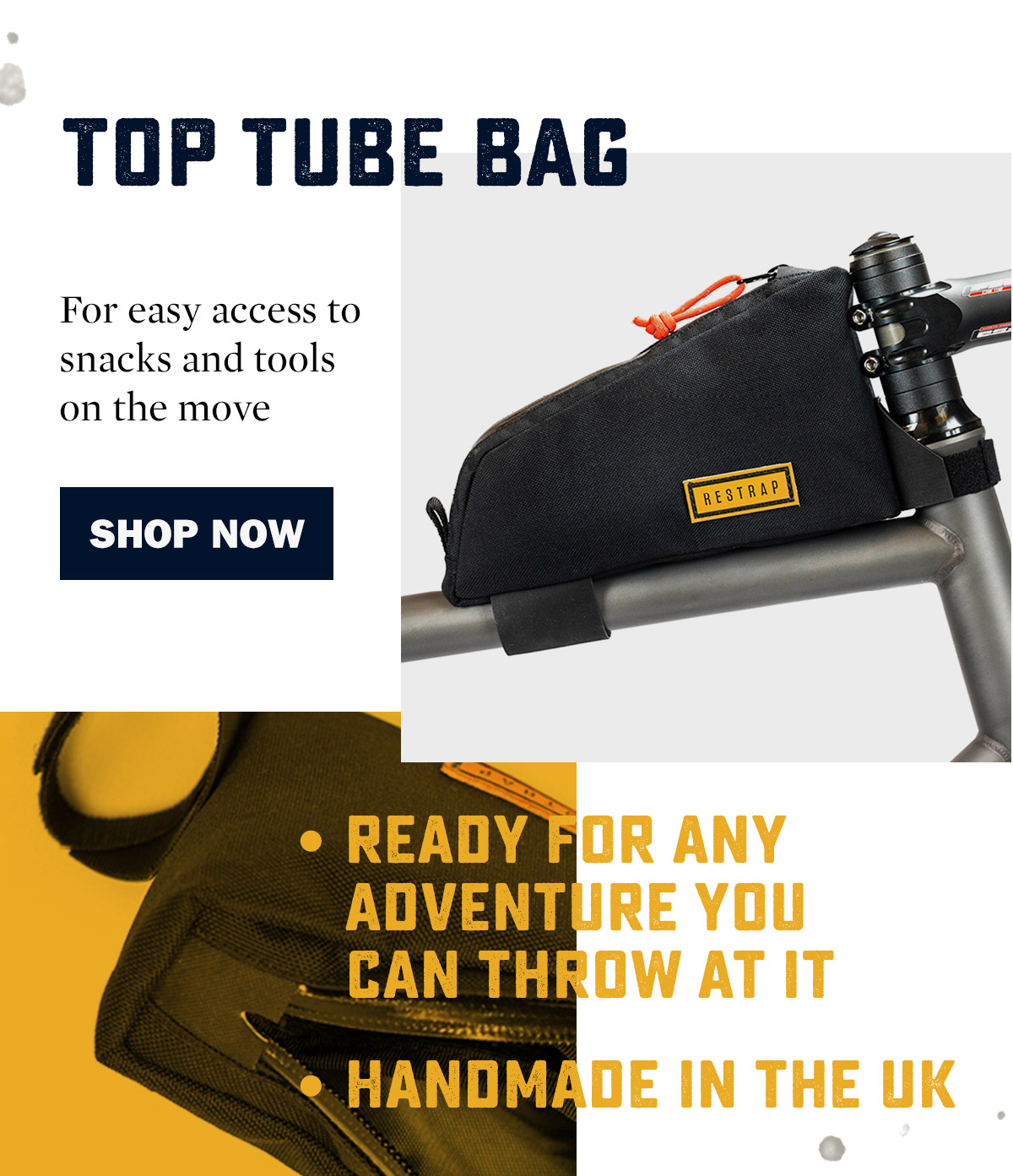 Restrap Top Tube Bag | WildBounds