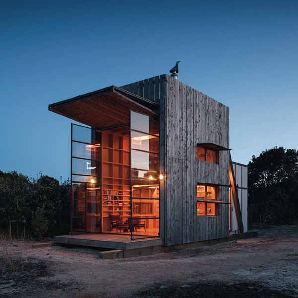 The New Zealand Beach Cabin Designed for a Changing Climate | Fieldmag