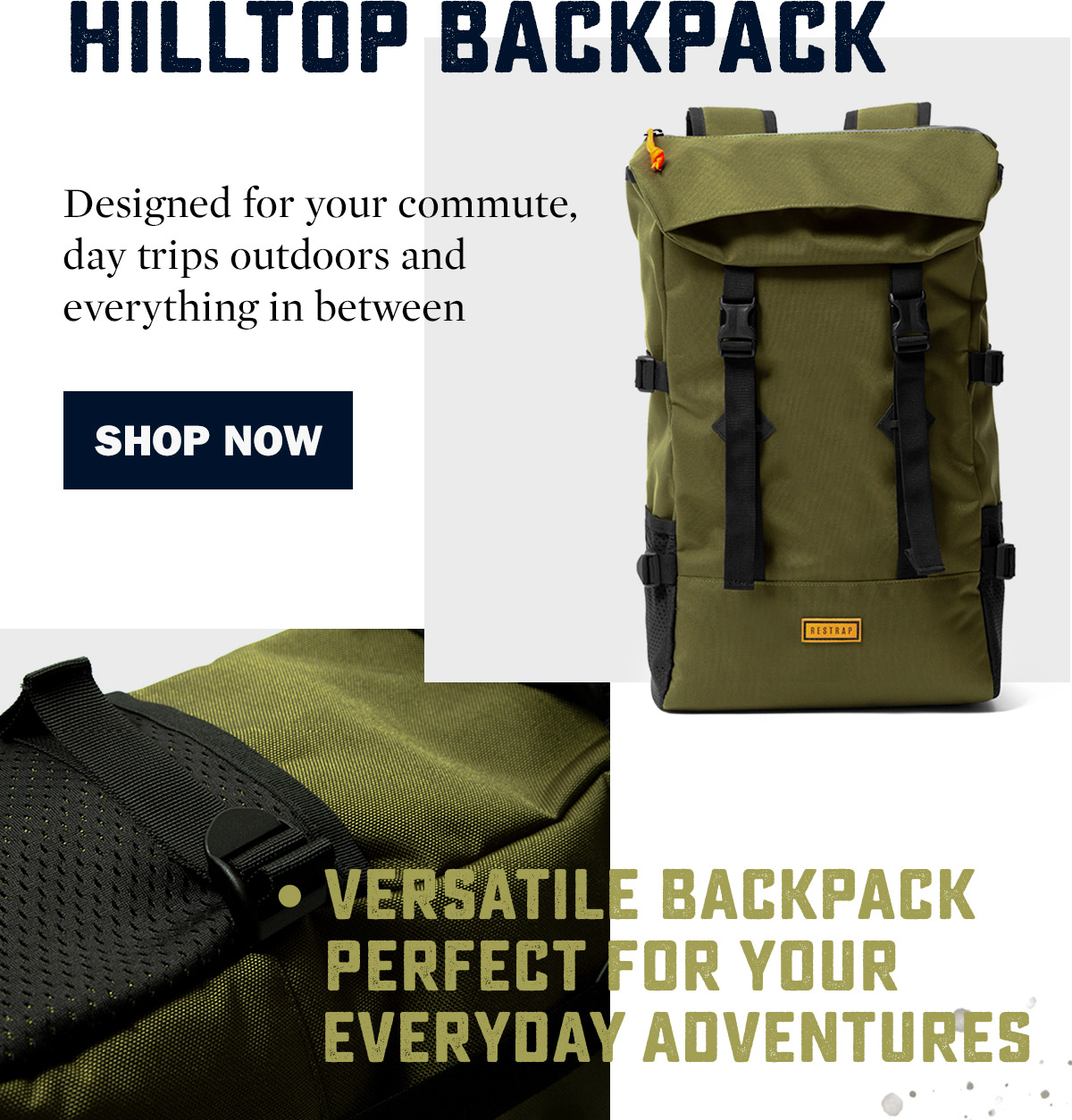 Restrap Hilltop Backpack | WildBounds