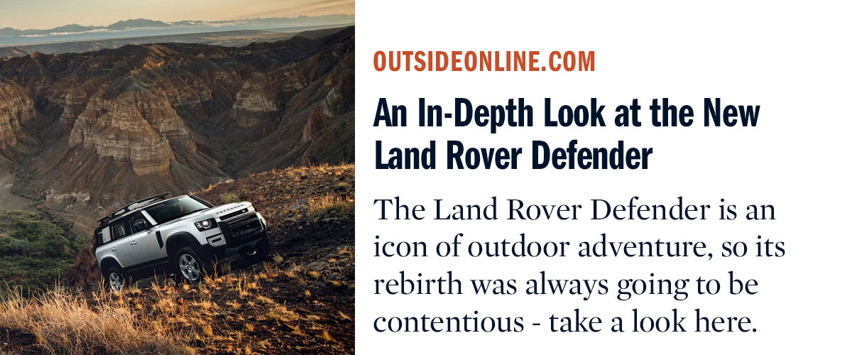 An In-Depth Look at the New Land Rover Defender