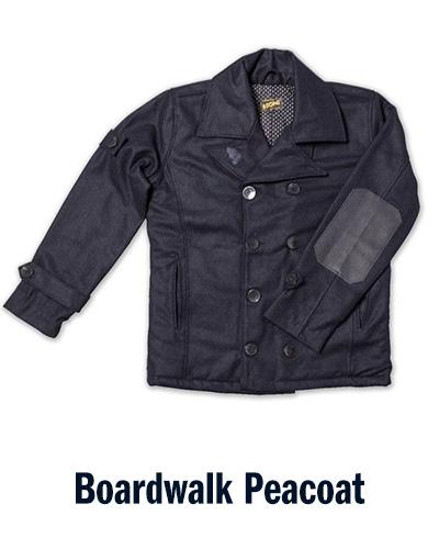 Boardwalk Peacoat | &SONS