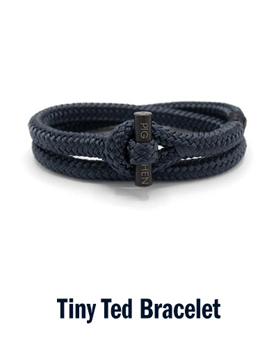 Tiny Ted Bracelet | Pig & Hen