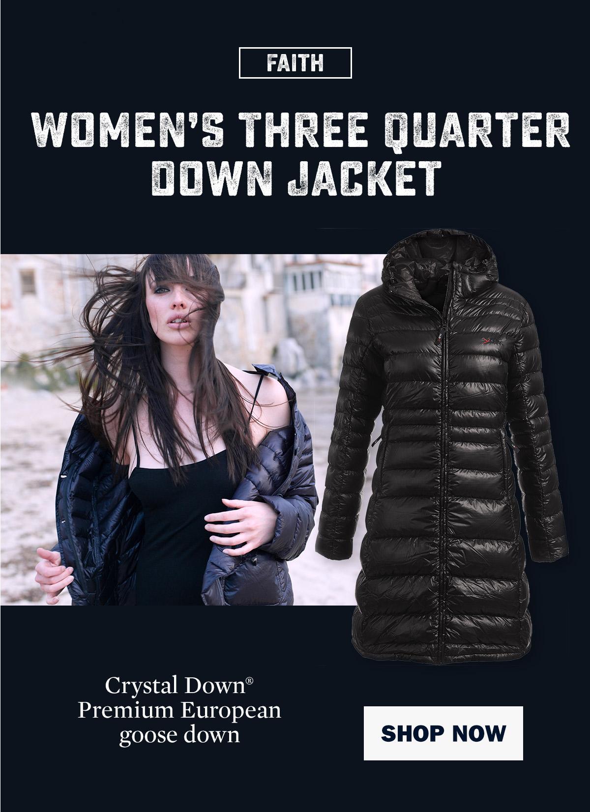 Women's Faith Lightweight Down Coat   Yeti