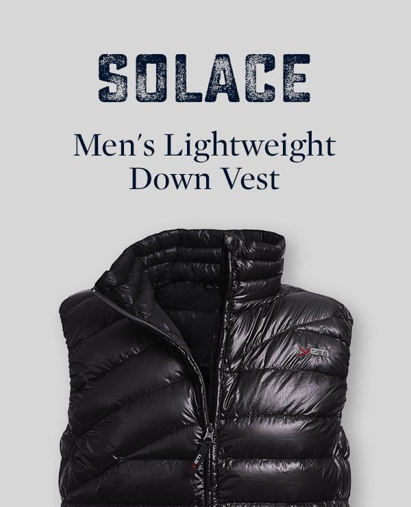 Men's Solace Lightweight Down Vest   Yeti