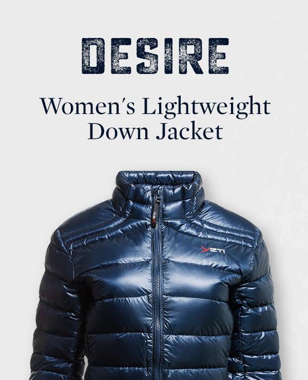 Women's Desire Lightweight Down Jacket   Yeti
