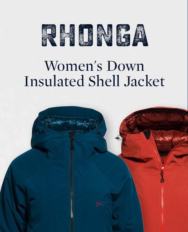 Women's Rhonga Down Insulated Shell Jacket   Yeti