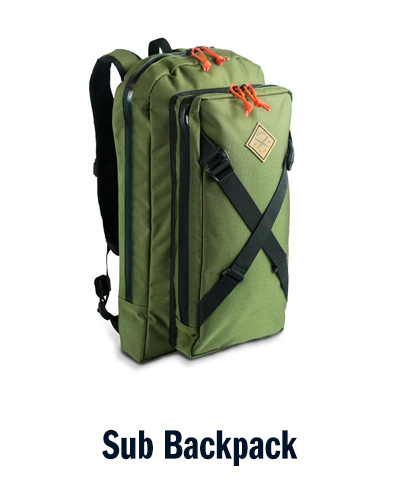 Sub Backpack   Restrap